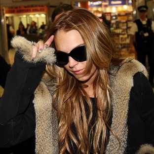 Lindsay Lohan suffered a miscarriage while filming her TV series