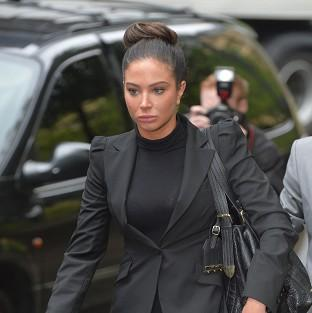 Tulisa Contostavlos has appeared in court accused of being