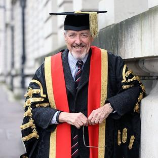 Griff Rhys Jones has ruled himself out of becoming Cardiff University's new figurehead