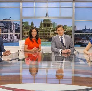 Good Morning Britain's new presenting team features Sean Fletcher, Susanna Reid, Ben Shephard and Charlotte Hawkins