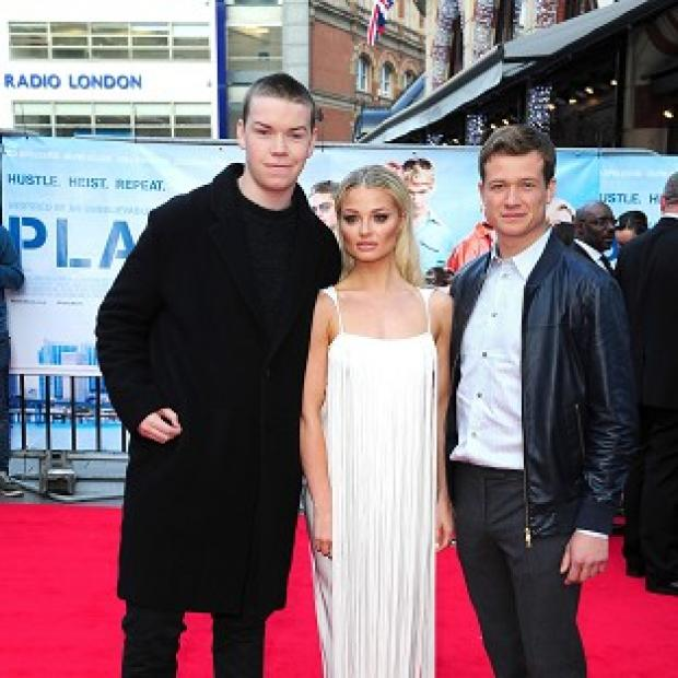 Burnham and Highbridge Weekly News: Will Poulter, Emma Rigby and Ed Speleers attend the premiere of Plastic