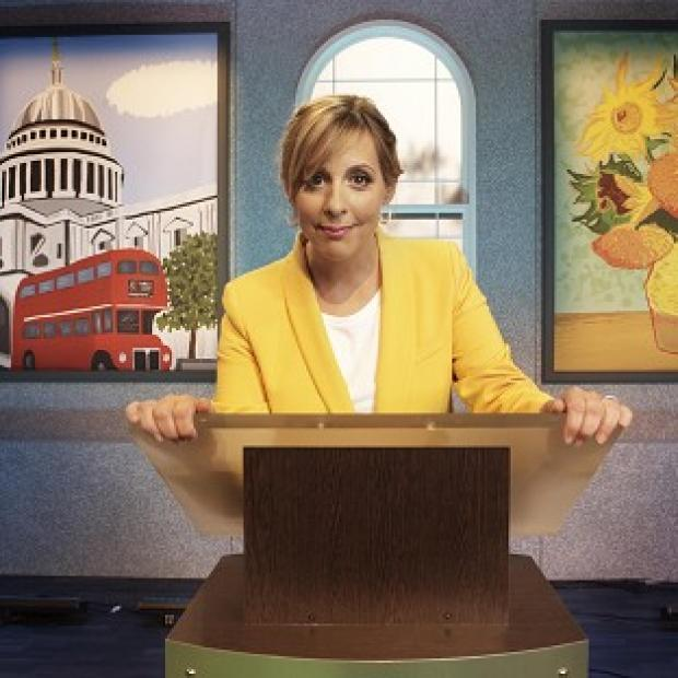 Burnham and Highbridge Weekly News: Mel Giedroyc presents new game show Draw It!