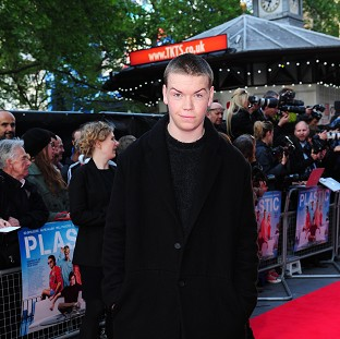 Will Poulter has said working with Cara Delevingne was a great experience