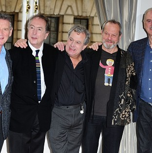 The Monty Python comedy troupe are rele