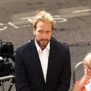 Ben Fogle has fought off a mugger, calling on him to