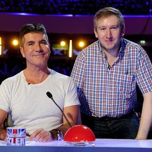 Contestant Simon Cowell meets his more famous namesake on Britain's Got Talent