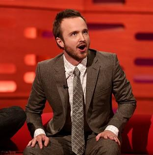 Aaron Paul loves married life