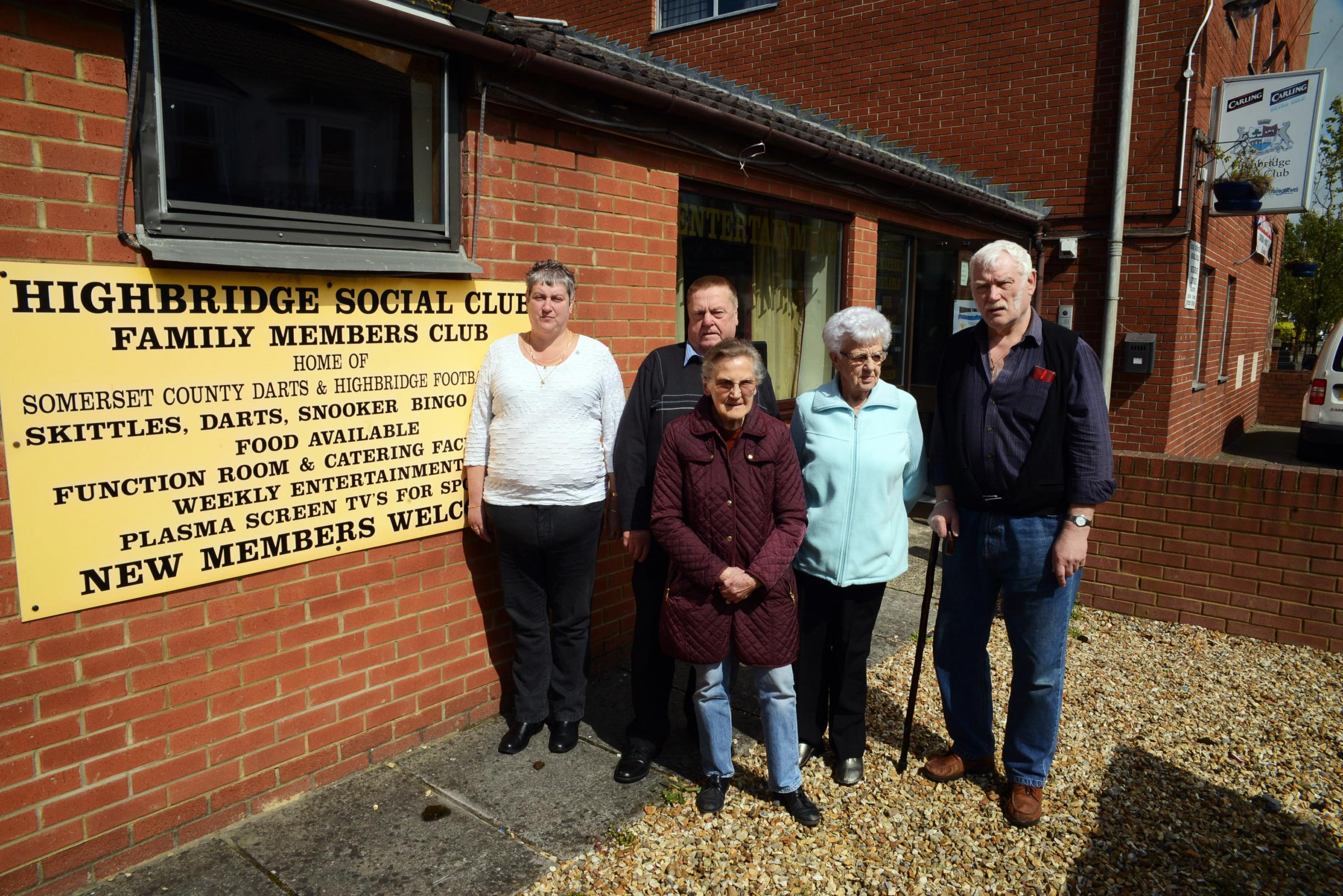 Highbridge Social Club celebrates rates relief