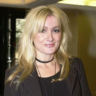 Caroline Aherne wants to highlight a rare form of eye cancer