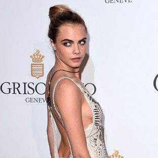 Cara Delevingne in Cannes (Photo by David Fisher/Rex)