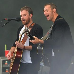 Burnham and Highbridge Weekly News: The Kings of Leon with Chris Martin performing during Radio 1's Big Weekend at Glasgow Green