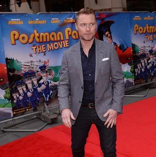 Ronan Keating is Postman Pat's singing voice in Postman Pat: The Movie