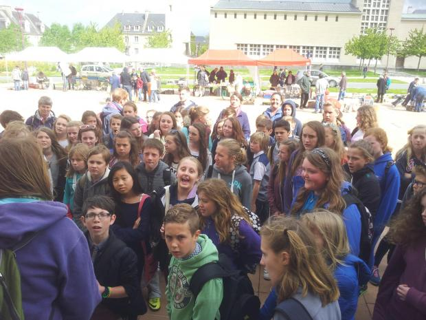 Hugh Sexey students travel to Normandy