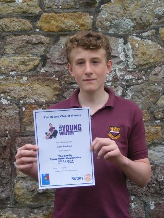 Hugh Sexey student wins young writer competition