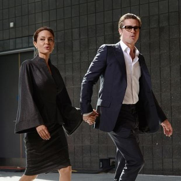 Burnham and Highbridge Weekly News: Angelina Jolie and Brad Pitt arrived hand-in-hand for the London summit