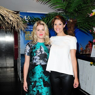 Hannah Arterton says she and sister Gemma are always excited for each other about acting roles