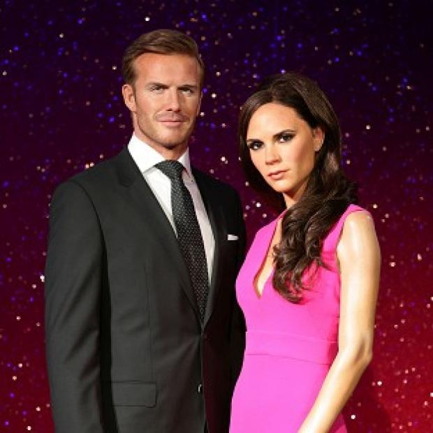 Burnham and Highbridge Weekly News: The new wax figures of David and Victoria Beckham