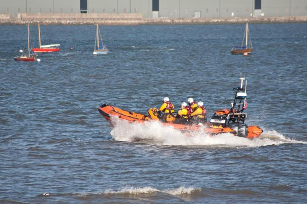 Revving up for lifeboat day at Burnham RNLI station