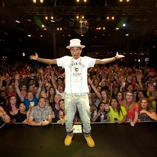 Pharrell Williams wowed fans at his intimate MasterCard Priceless gig
