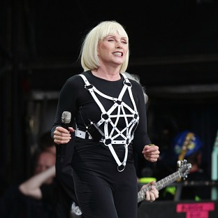Debbie Harry of Blondie oozes glamour on the Other Stage at Glastonbury Festival