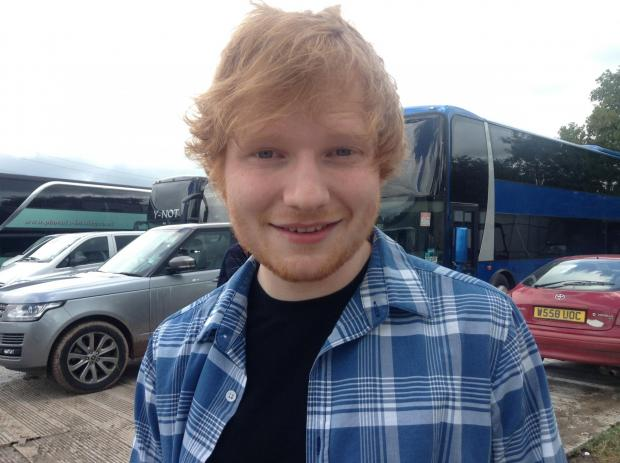 Burnham and Highbridge Weekly News: Ed Sheeran.jpg
