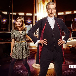 Doctor Who will star Peter Capaldi and Jenna Coleman in series eight