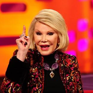 Joan Rivers has stormed out of an interview with CNN