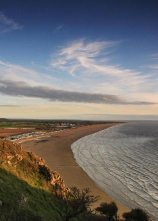 BREAN Down's coastline: one of the many parts of the county that will benefit from the new access paths. - Photo by Paul Silvers.