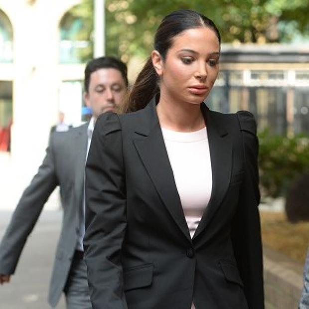 Burnham and Highbridge Weekly News: Tulisa Contostavlos arrives at Southwark Crown Court in London