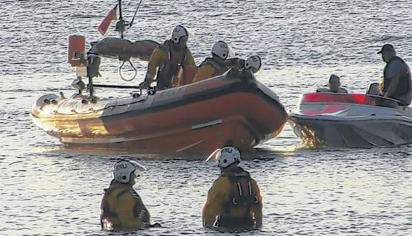 RNLI volunteers involved in dramatic sea rescue on boat's maiden voyage