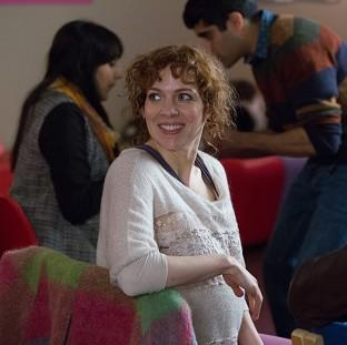 Katherine Parkinson stars in In The Club, a drama series about pregnancy