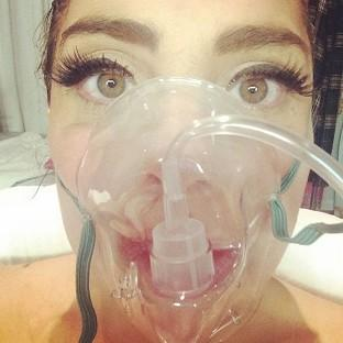 Lady Gaga was hospitalised for altitude sickness (Lady Gaga/Instagram)