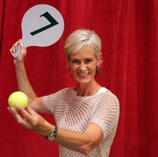 Judy Murray, the mother of t