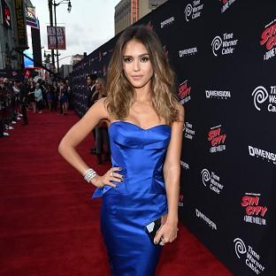 Jessica Alba at the Sin City: A Dame To Kill For premiere in LA