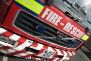 Grill pan fire in Dulverton