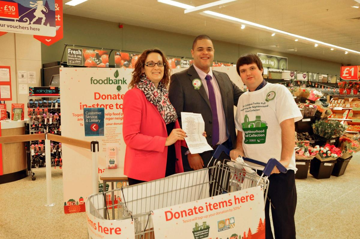 Tesco Trolley Dash Gives A Boost To Burnham And Highbridge