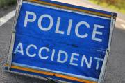 Reports of an accident on B3153 Somerton Hill