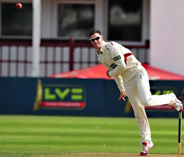 RETURN: George Dockrell in action while at Somerset.