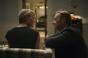 Kevin Spacey reveals House Of Cards is a house of fun
