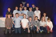 TEAM of the year - under 10's, run by managers Ritchie Crook and Jim Harris