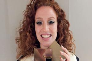 Jess Glynne 'overwhelmed' to land number one album