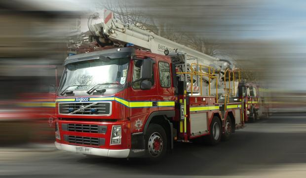 Van fire sparks call out for Burnham firefighters