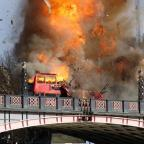 Burnham and Highbridge Weekly News: Londoners aren't too happy about the bus explosion staged for a Jackie Chan film