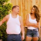 Burnham and Highbridge Weekly News: Video: Cindy Crawford and James Corden have hilariously remade a famous advert