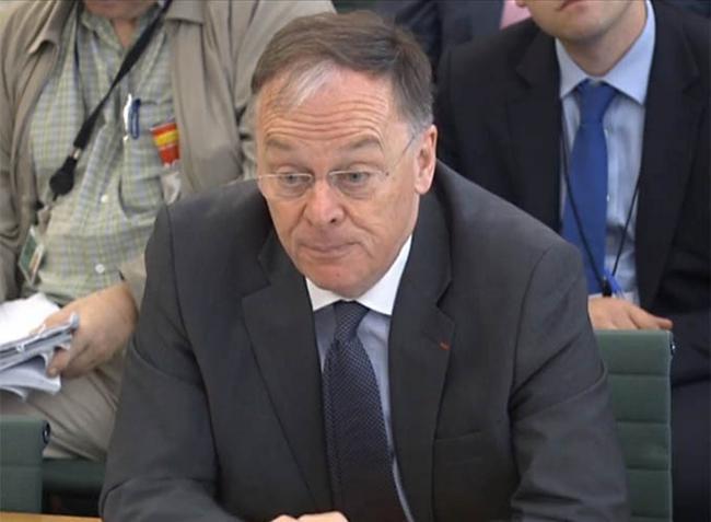 QUIZZED: EDF chief executive Vincent de Rivaz said he is confident Hinkley C will go ahead in a meeting with the energy committee. Photo: PA Wire