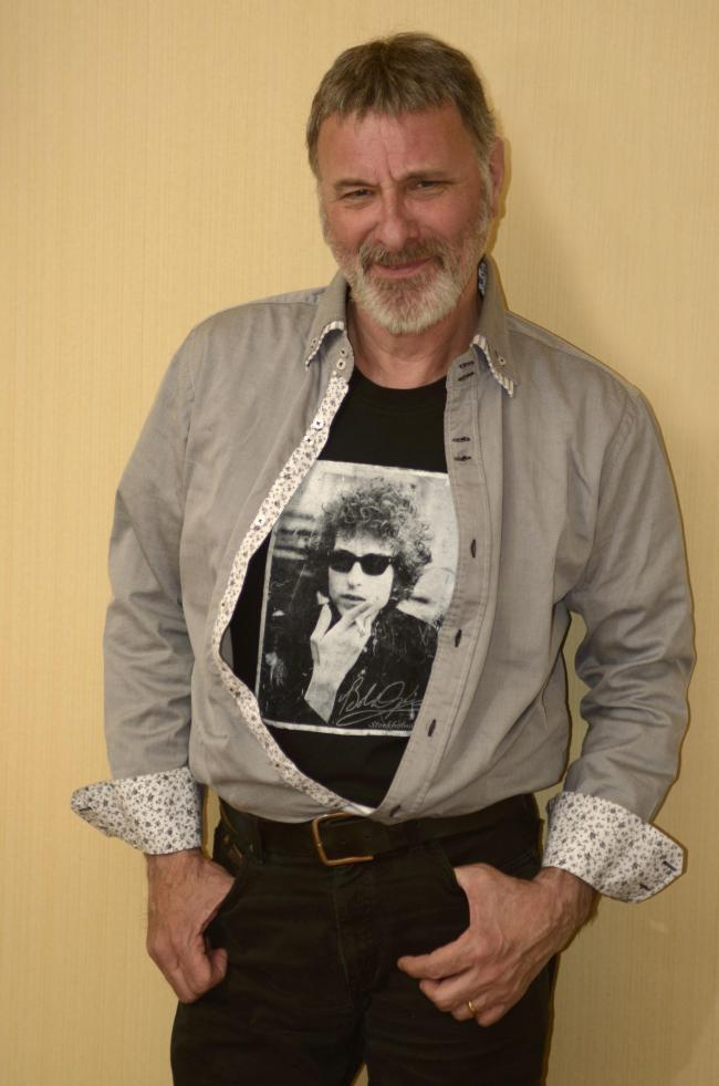 ROCKSTAR: Steve Harley will be coming to East Huntspill, make you smile