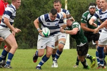 BRACE: Tim Piper scored two tries for Burnham-on-Sea against Yatton.