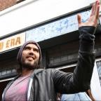 Burnham and Highbridge Weekly News: Russell Brand gives his east London cafe to charity