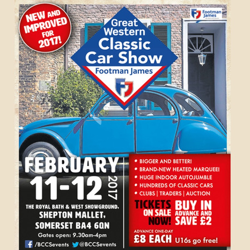 The Footman James Great Western Classic Car Show 2017