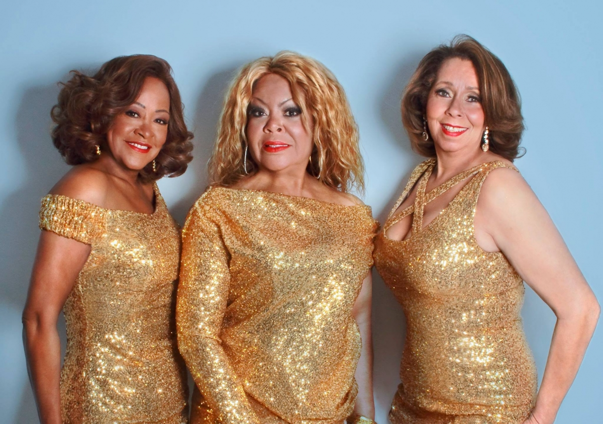 STILL GOING STRONG: The Three Degrees who will be performing at The Playhouse in Weston-Super-Mare